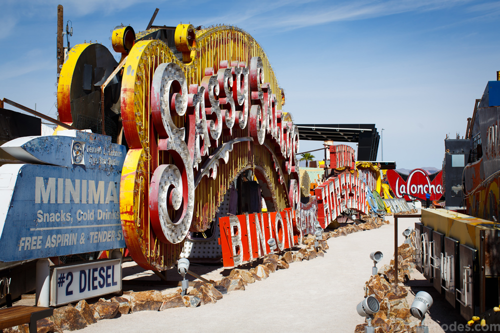 Touring The Neon Museum Guy Rhodes Photography